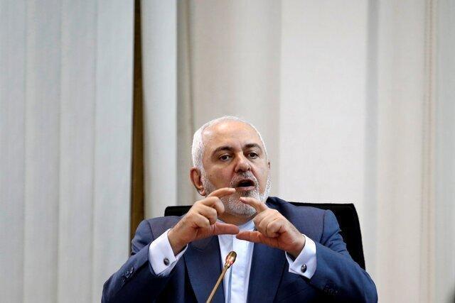 ظریف: تحریم بانک مرکزی جنایت جنگی است