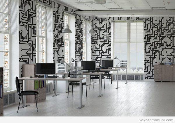 کاربرد کاغذ دیواری در دکوراسیون داخلی ساختمان