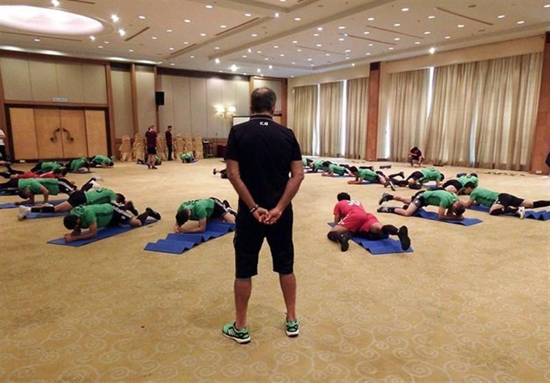 برگزاری تمرین تیم ملی در غیاب جهانبخش، ملی پوشان عصر امروز روی چمن می فرایند