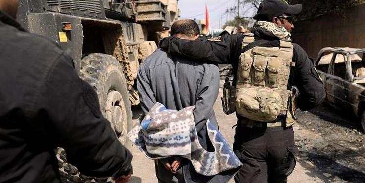 عراق اعضای یک باند تروریستی مرتبط با خارج را دستگیر کرد