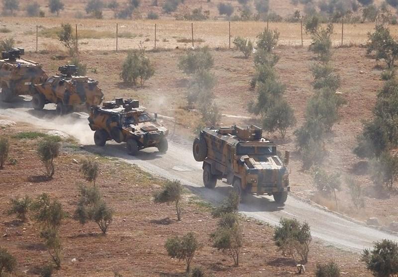 حملات ارتش ترکیه به مواضع ارتش سوریه