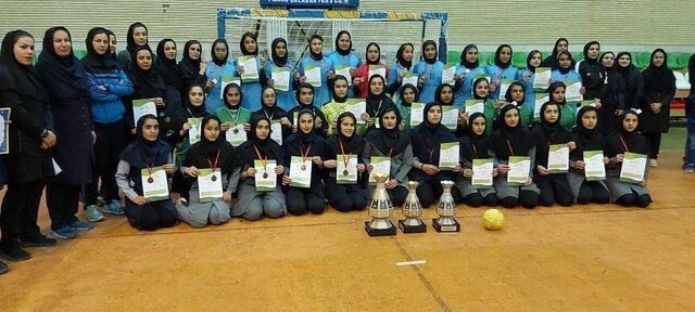 خاتمه مسابقات هندبال دانش آموزی دختران خوزستان